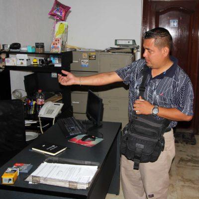 Interpone reportero agredido por policías de Cancún denuncia ante la PGR que será turnada a la FEADLE