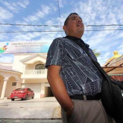 Reportero golpeado por policías de Cancún interpone denuncia ante la Fiscalía y una queja ante Derechos Humanos