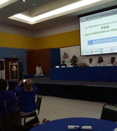 Celebran jornadas de enfermería en Cancún