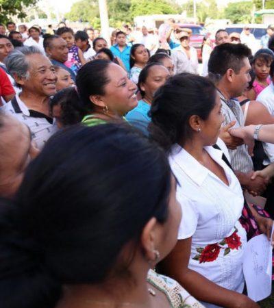 Hay obra pública contratada en Cozumel por 62.8 mdp, confirma Carlos Joaquín