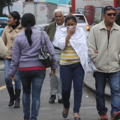 PODRÍA BAJAR TEMPERATURA A MENOS DE 10 GRADOS EN QR: No guarde su abrigo, seguirá el frío con probables lluvias