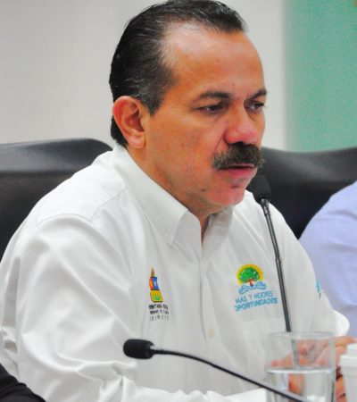 """Tras su renuncia a la Sedeso, dice Julián Ricalde que el Senado es una posibilidad, """"pero no necesariamente"""""""