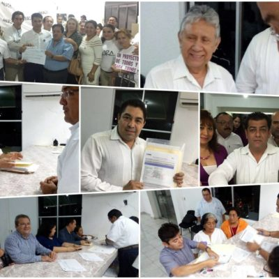 Finalmente, 13 ciudadanos lograron quedar inscritos como candidatos independientes a las presidencias municipales de QR