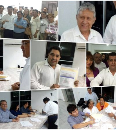 VAN 14 POR CANDIDATURAS INDEPENDIENTES: Se registran aspirantes sin partido a las alcaldías de QR