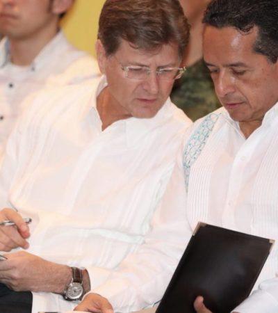 BUSCAN RECUPERAR LA SEGURIDAD DE DESTINOS TURÍSTICOS: Firman convenio para dar apoyo técnico y recursos para garantizar tranquilidad en Cancún y Playa del Carmen