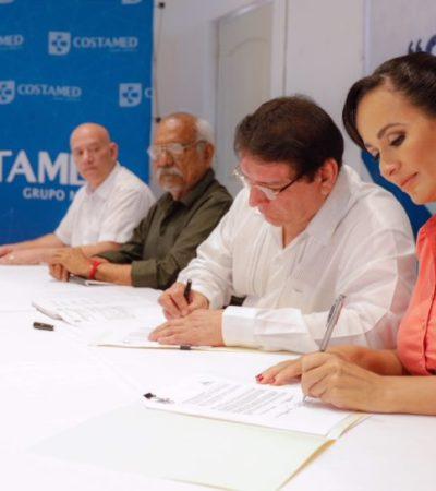 Construirán hospital Costamed en Puerto Morelos y darán servicio de ambulancia gratuito, anuncian