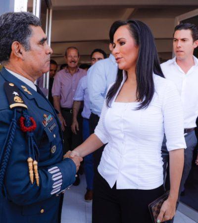 Reconoce Alcaldesa al Ejército como garantía de paz, seguridad y soberanía