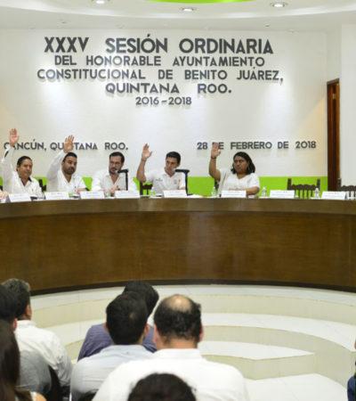 Aprueba Cabildo prórroga en trámite de licencia de funcionamiento en Cancún