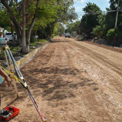 Rescatan vialidad en Puerto Morelos