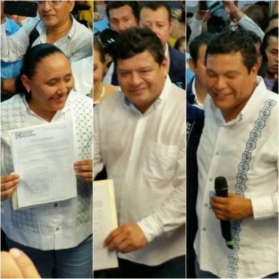SE REGISTRAN PRECANDIDATOS DEL PAN: Cristina Torres va por la reelección, Luis Torres por una diputación y Fernando Zelaya por la Alcaldía de OPB