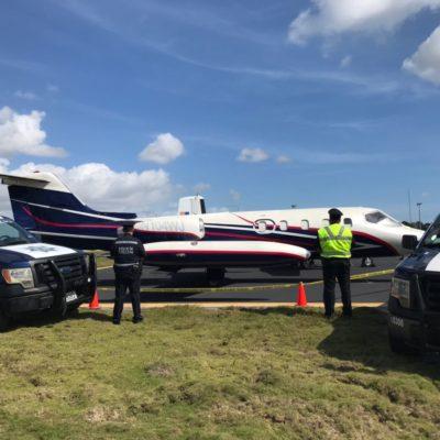 Aseguran aeronave con permisos vencidos en aeropuerto de Cancún