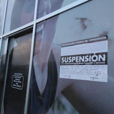 Impone Profeco sellos de suspensión a Aguakán en Playa del Carmen
