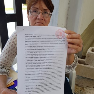 Acusa asociación despojo de instalaciones para personas de la tercera edad en Cancún