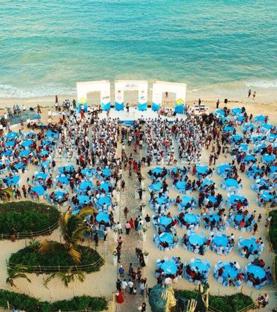Contraen nupcias más de 200 parejas en bodas colectivas de Solidaridad