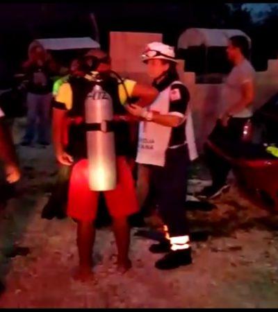 Desaparece hombre que se metió a nadar en una laguna en la colonia El Milagro de Cancún
