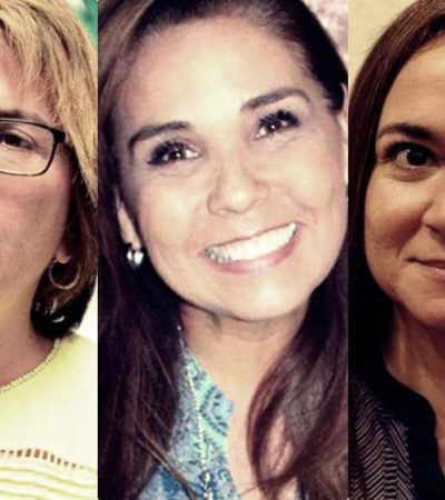 REPARTE MORENA CANDIDATURAS A MUJERES: Aprueban postular a Mara Lezama para Cancún, Laura Beristaín para Playa y Juanita Alonso para Cozumel