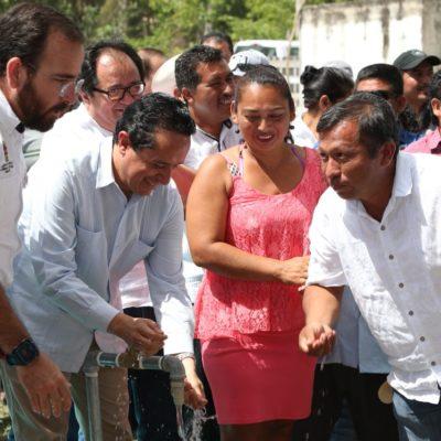 """""""HACE AÑOS QUE NO TENÍAMOS AGUA… YA HASTA LA CUENTA PERDÍ"""": Después de una larga lucha, Caobas y San Antonio Soda ya tienen agua potable"""