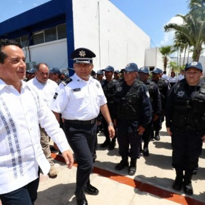 Capacitan a más de 3 mil 500 policías en Quintana Roo