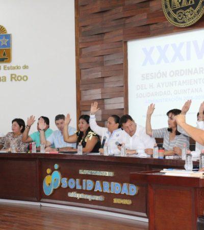 Acusan en Cabildo que Aguakan corta banquetas sin pemisos y el Ayuntamiento lo tolera en Solidaridad