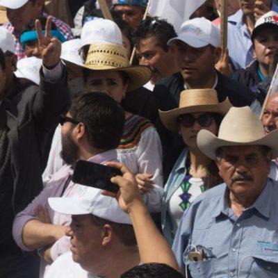 Termina la caravana de Javier Corral con un acuerdo para que Hacienda deposite 900 mdp al gobierno de Chihuahua