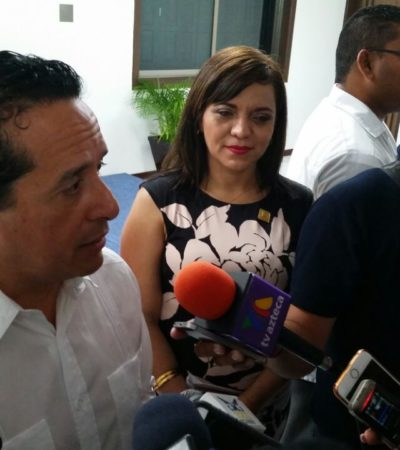 Desconoce Carlos Joaquín existencia de recursos contra Félix González