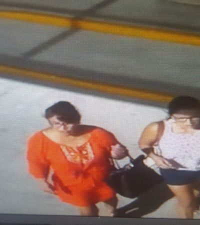 Capta video a carteristas en Playa del Carmen