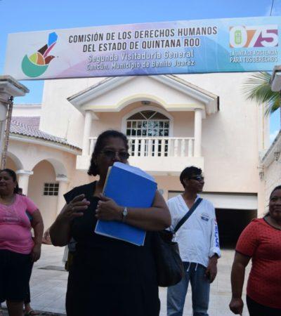 Acuden vecinos a Derechos Humanos para exigir fin a cementeras