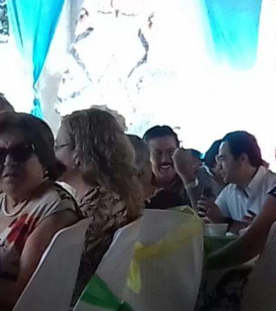 Se reúne 'Chanito' con asociación priista