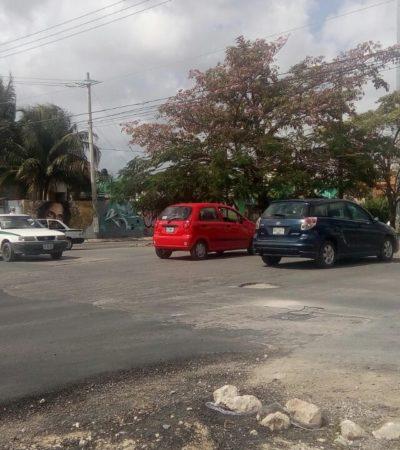 'CRUCERO DEL TERROR' EN LA SM 517: Pese al intenso tráfico, no hay topes, semáforos ni asistencia vial y el caos está garantizado