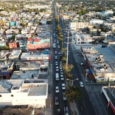 ¿FUNCIONAN LOS PARES VIALES DE LA KABAH?: Prevalece malestar de automovilistas por los cambios a la circulación en una de las principales avenidas de Cancún