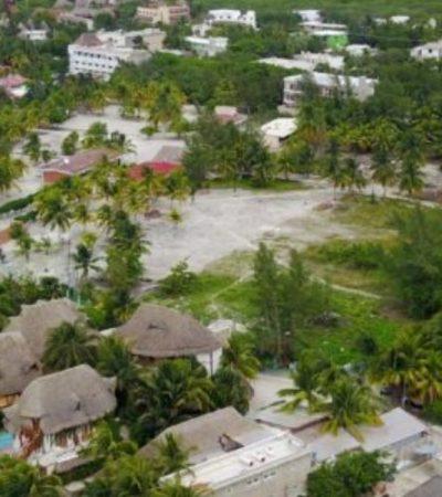 PURAS 'CURITAS' EN HOLBOX: Fétidos olores invaden la isla ante retraso en la obra de drenaje sanitario por parte de la CAPA