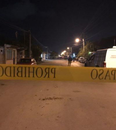 PRELIMINAR | AMANECE CANCÚN CON OTRO FEMINICIDIO: Hallan cuerpo desnudo de mujer envuelto en una sábana en la Región 203