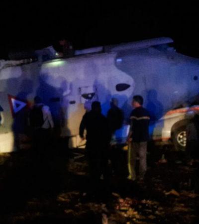 TRAGEDIA EN OAXACA: Suman 13 muertos y 15 heridos por caída de helicóptero militar donde viajaban el secretario de Gobernación y el Gobernador Murat; funcionarios la libran