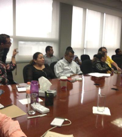 ESTÁN EMPANTANADOS EN EL PRD: Sin consensos candidaturas para Ayuntamientos de QR; será el lunes cuando se retomen los trabajos