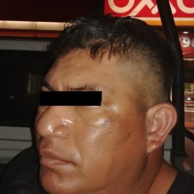 Atrapan a dos asaltantes en Puerto Morelos