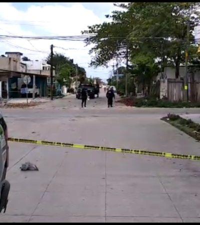 Disparan contra domicilio en la Región 103 de Cancún