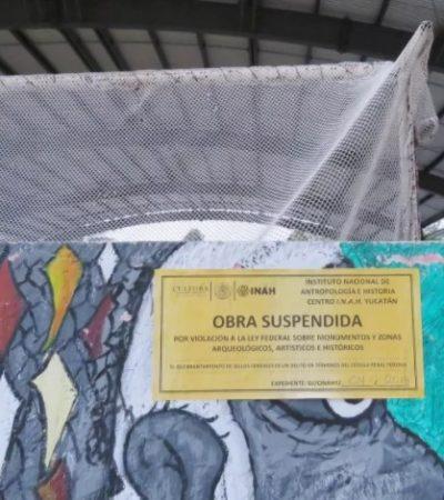 Clausura INAH domo por ocultar vista del Fuerte de Santiago en Sisal
