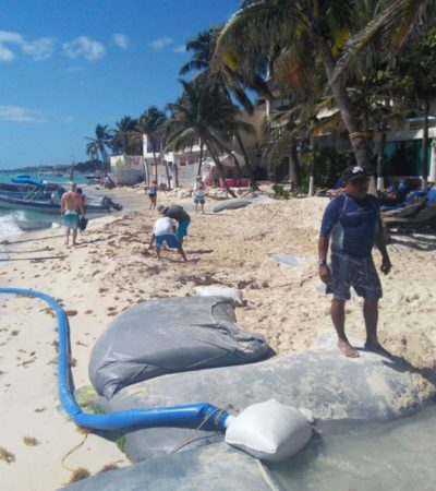 Las tres propuestas de Sectur para recuperación de playas