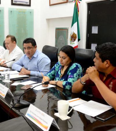 Comienzan preparativos para inicio de periodo ordinario de sesiones en el Congreso