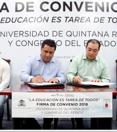 Ratifica Congreso apoyo mensual para estudiantes de la Uqroo
