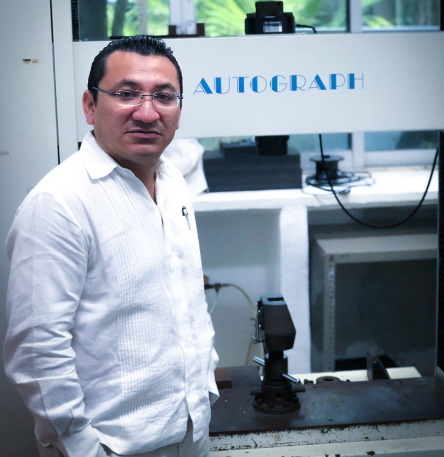 Inventa yucateco sensor de temperatura flexible