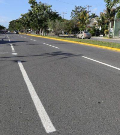 Termina Alcalde reconstrucción de la Avenida La Luna en Cancún