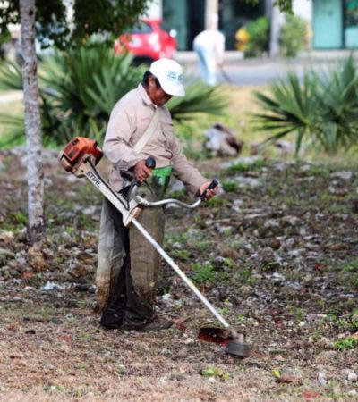 Suman más de 292 parques rehabilitados en Cancún