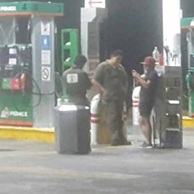 Capturan a asaltante de gasolinera en Playa del Carmen