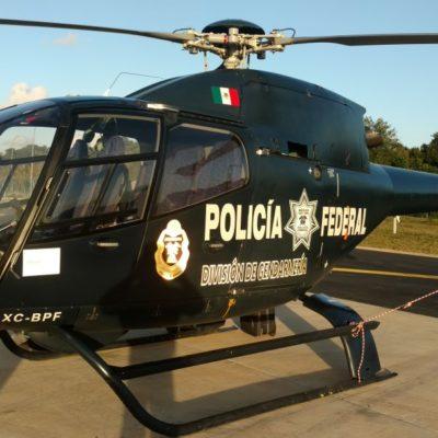 Realiza Policía Federal sobrevuelos de vigilancia en Cancún… o eso dicen