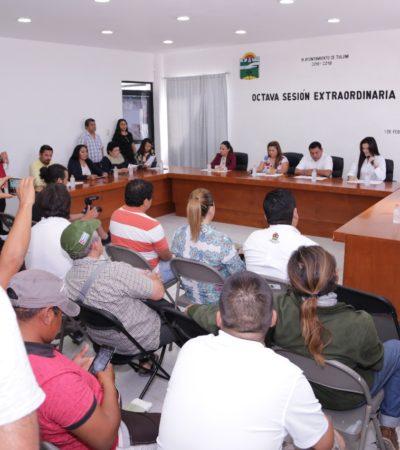 Acata el Cabildo de Tulum disposición jurídica sobre pleito por acceso a playas de Akumal para no caer en desacato en un juicio