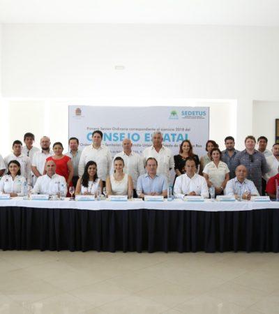 Realiza reunión el Consejo Estatal de Ordenamiento Territorial y Desarrollo Urbano
