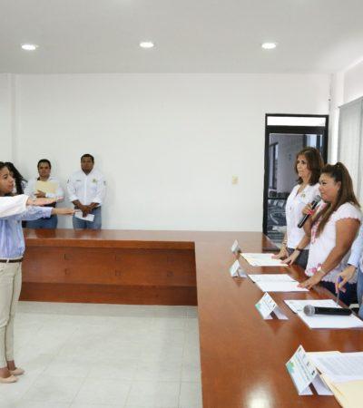Nombra Romi Dzul Caamal coordinaciones del DIF Tulum