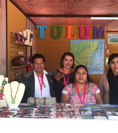 Participa Tulum en feria turística de la CDMX: 'México en el Corazón de México'