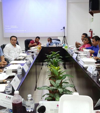 Aprueba INE a 19 supervisores electorales